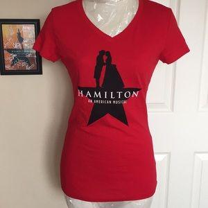 HAMILTON V-neck tee